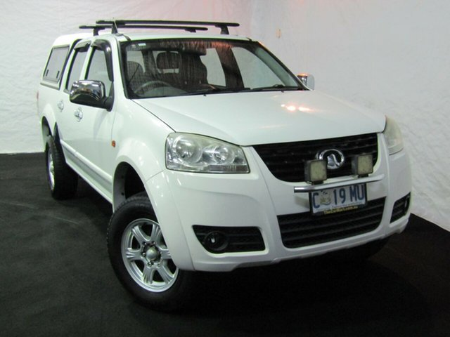 Used Great Wall V200 K2 MY12 4x2, 2012 Great Wall V200 K2 MY12 4x2 White 6 Speed Manual Utility