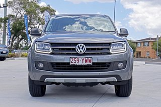 2014 Volkswagen Amarok 2H MY15 TDI420 4MOTION Perm Dark Label Natural Grey 8 Speed Automatic Utility.