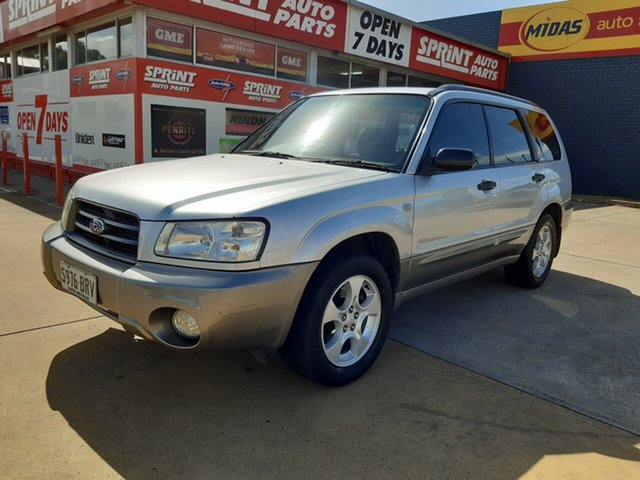 Used Subaru Forester 79V MY03 XS AWD, 2002 Subaru Forester 79V MY03 XS AWD Silver 4 Speed Automatic Wagon