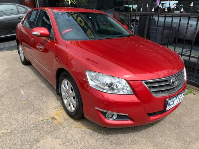 Used Toyota Aurion GSV40R Prodigy, 2008 Toyota Aurion GSV40R Prodigy Red 6 Speed Sports Automatic Sedan