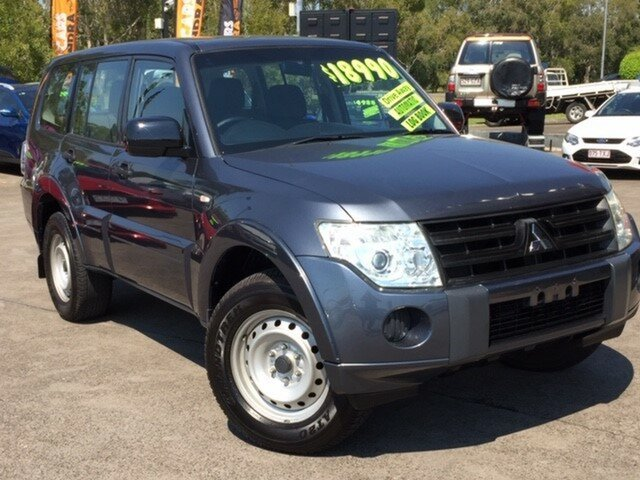 Used Mitsubishi Pajero NT MY10 GL, 2010 Mitsubishi Pajero NT MY10 GL Graphite 5 Speed Sports Automatic Wagon