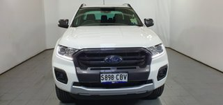 2019 Ford Ranger PX MkIII 2019.75MY Wildtrak Pick-up Double Cab Arctic White 10 Speed.