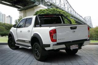 2018 Nissan Navara D23 S3 ST Black Edition Polar White 7 Speed Sports Automatic Utility.
