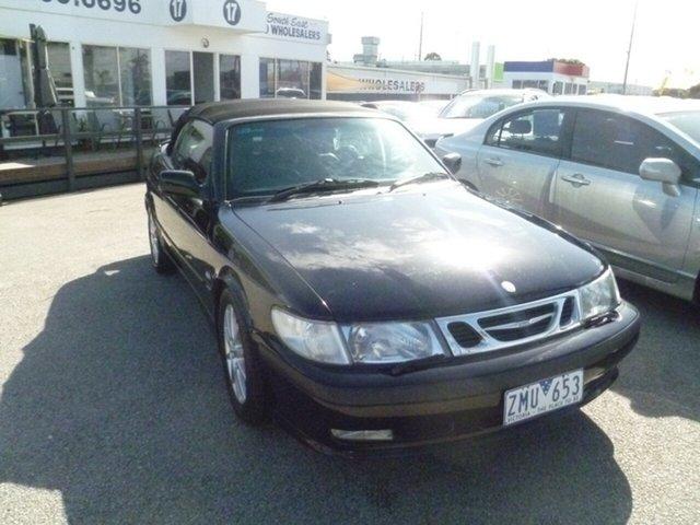 Used Saab 9-3 MY2003 Turbo, 2003 Saab 9-3 MY2003 Turbo Black 4 Speed Automatic Convertible