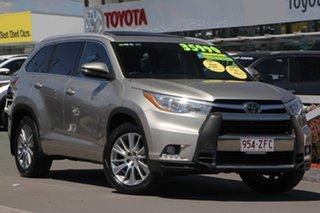 2014 Toyota Kluger GSU55R Grande AWD Fawn 6 Speed Sports Automatic Wagon.