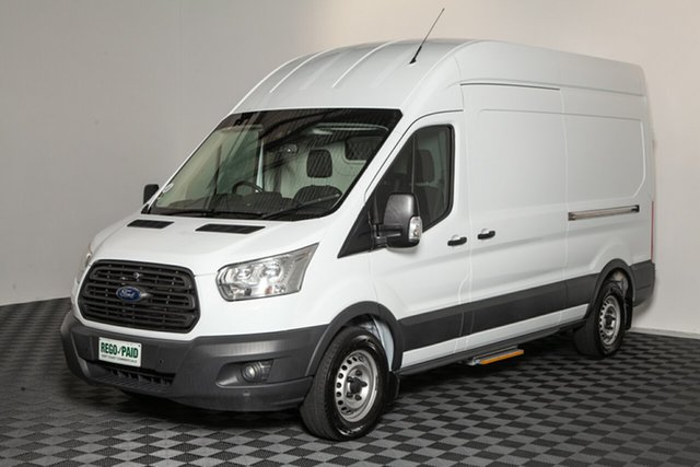 Used Ford Transit VO 350L Mid Roof LWB, 2014 Ford Transit VO 350L Mid Roof LWB White 6 Speed Manual Van