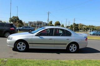 2006 Ford Falcon BF SR Silver 4 Speed Sports Automatic Sedan