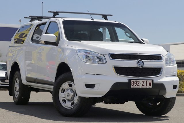 Used Holden Colorado RG MY15 LS Crew Cab 4x2, 2015 Holden Colorado RG MY15 LS Crew Cab 4x2 Summit White 6 Speed Sports Automatic Utility
