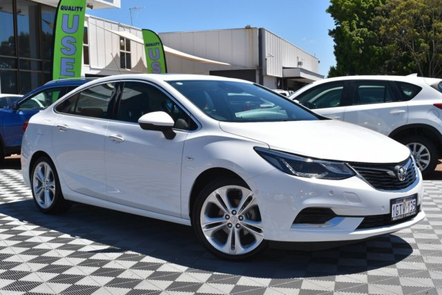 Used Holden Astra BL MY18 LTZ, 2018 Holden Astra BL MY18 LTZ Summit White 6 Speed Sports Automatic Sedan