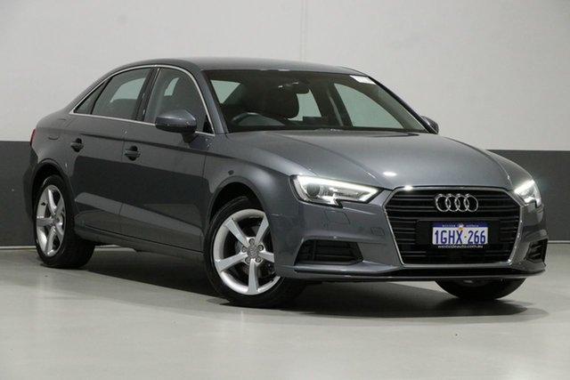 Used Audi A3 8V MY17 1.4 TFSI CoD, 2017 Audi A3 8V MY17 1.4 TFSI CoD Grey 7 Speed Auto S-Tronic Sedan