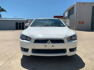2013 Mitsubishi Lancer CJ MY13 LX White 5 Speed Manual Sedan