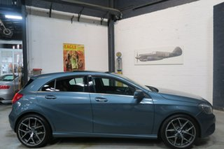 2013 Mercedes-Benz A-Class W176 A180 D-CT Grey 7 Speed Sports Automatic Dual Clutch Hatchback.