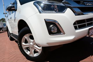 2017 Isuzu D-MAX MY17 LS-U Crew Cab White 6 Speed Sports Automatic Utility.