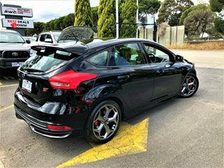 2016 Ford Focus LZ ST Black 6 Speed Manual Hatchback.