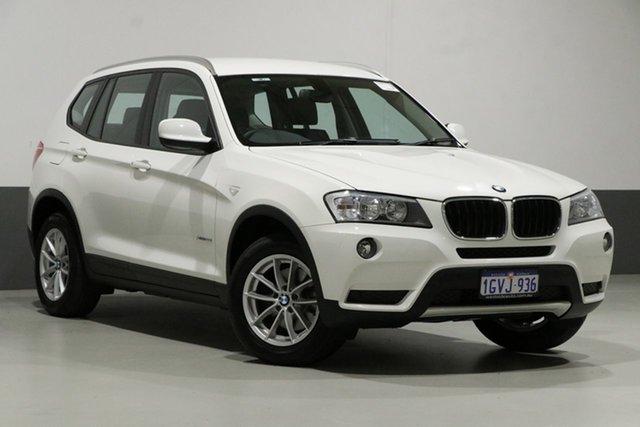 Used BMW X3 F25 xDrive 20I, 2013 BMW X3 F25 xDrive 20I White 8 Speed Automatic Wagon