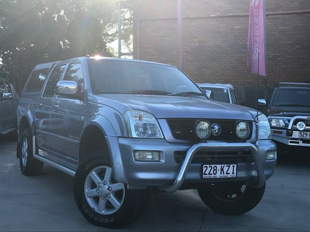 Used Holden Rodeo RA LT Crew Cab, 2004 Holden Rodeo RA LT Crew Cab Grey 5 Speed Manual Utility