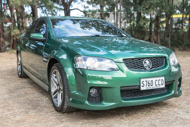 Used Holden Commodore VE II SV6, 2010 Holden Commodore VE II SV6 Green 6 Speed Sports Automatic Sedan
