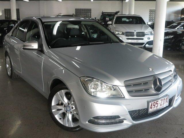 Used Mercedes-Benz C-Class W204 MY13 C200 7G-Tronic +, 2013 Mercedes-Benz C-Class W204 MY13 C200 7G-Tronic + Silver 7 Speed Sports Automatic Sedan
