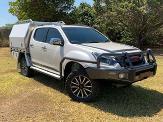 2019 Isuzu D-MAX Splash White 6 Speed Automatic Crew Cab Utility.