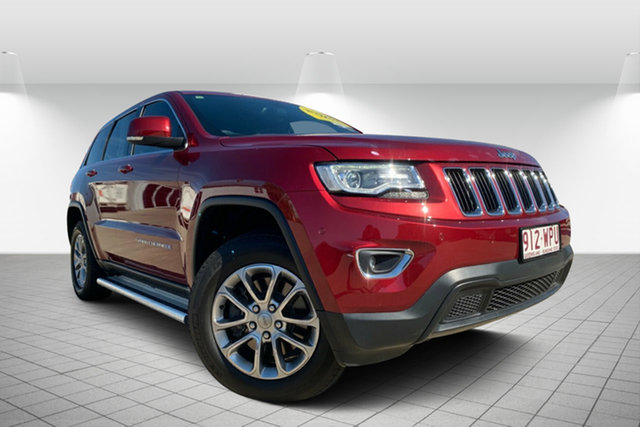 Used Jeep Grand Cherokee WK MY15 Laredo 4x2, 2015 Jeep Grand Cherokee WK MY15 Laredo 4x2 Red 8 Speed Sports Automatic Wagon