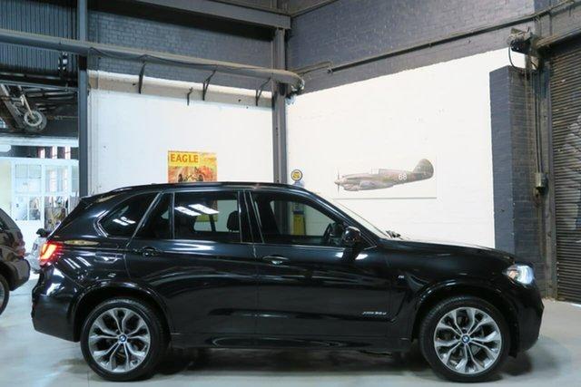 Used BMW X5 F15 xDrive30d, 2014 BMW X5 F15 xDrive30d Black 8 Speed Sports Automatic Wagon