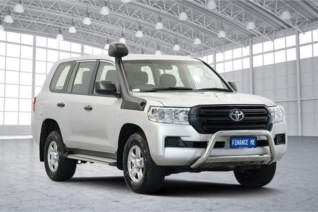 Used Toyota Landcruiser VDJ200R GX, 2018 Toyota Landcruiser VDJ200R GX Silver 6 Speed Sports Automatic Wagon