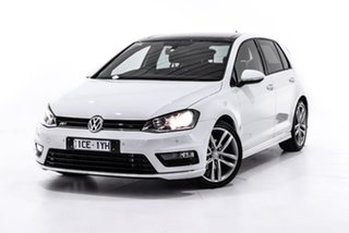 2014 Volkswagen Golf VII MY15 103TSI DSG Highline White 7 Speed Sports Automatic Dual Clutch.