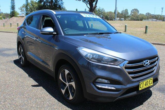 Used Hyundai Tucson TLe MY17 Elite AWD, 2016 Hyundai Tucson TLe MY17 Elite AWD Grey 6 Speed Sports Automatic Wagon
