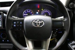 2016 Toyota Hilux GUN126R SR (4x4) White 6 Speed Automatic Dual Cab Utility