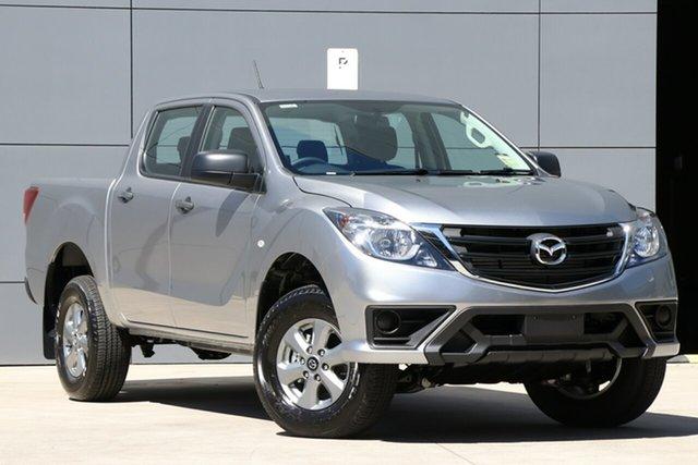 New Mazda BT-50 UR0YG1 XT 4x2 Hi-Rider, 2019 Mazda BT-50 UR0YG1 XT 4x2 Hi-Rider Aluminium 6 Speed Manual Utility
