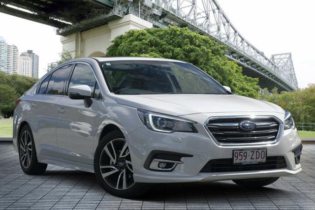 Demo Subaru Liberty B6 MY18 2.5i CVT AWD Premium, 2018 Subaru Liberty B6 MY18 2.5i CVT AWD Premium White Crystal 6 Speed Constant Variable Sedan
