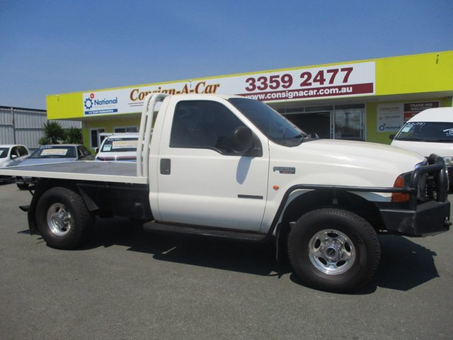Used Ford F250 RN XLT, 2004 Ford F250 RN XLT White 6 Speed Manual Cab Chassis