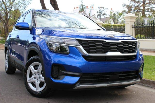 Demo Kia Seltos SP2 MY20 S 2WD, 2019 Kia Seltos SP2 MY20 S 2WD Neptune Blue Constant Variable Wagon