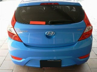 2018 Hyundai Accent RB6 MY18 Sport Blue 6 Speed Automatic Hatchback