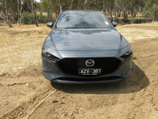 Mazda 3 G20 TOURING Grey 6 Speed Automatic Hatchback.
