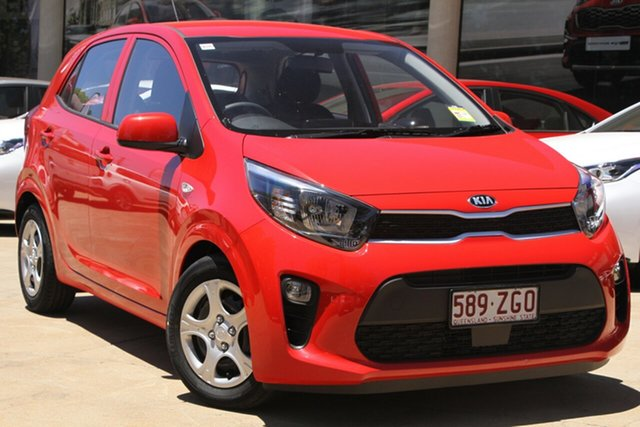 Demo Kia Picanto JA MY19 S, 2019 Kia Picanto JA MY19 S Signal Red 4 Speed Automatic Hatchback