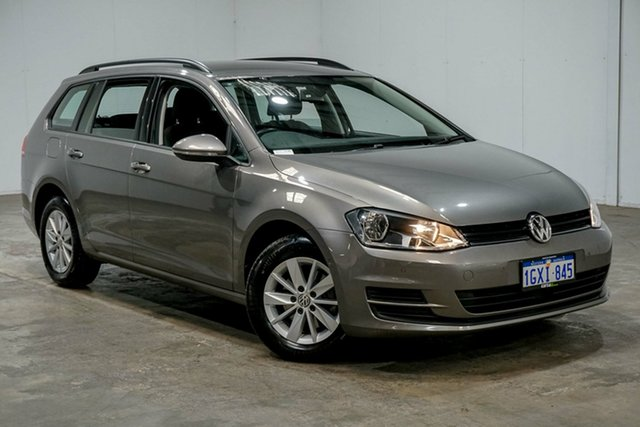 Used Volkswagen Golf VII MY16 92TSI DSG Trendline, 2016 Volkswagen Golf VII MY16 92TSI DSG Trendline Grey 7 Speed Sports Automatic Dual Clutch Wagon