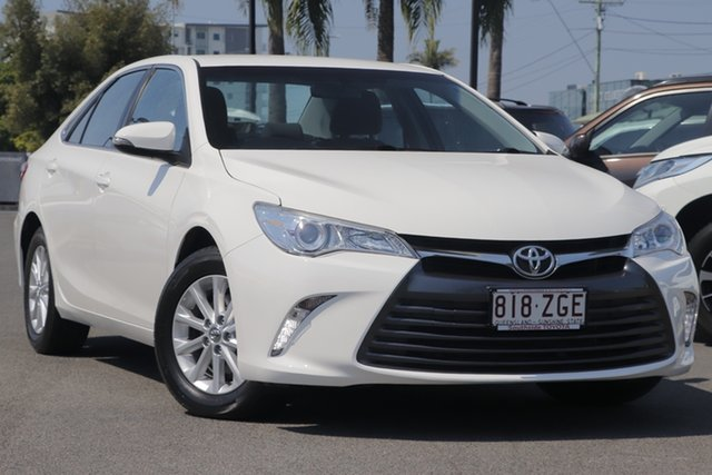 Used Toyota Camry ASV50R Altise, 2016 Toyota Camry ASV50R Altise Diamond White 6 Speed Sports Automatic Sedan
