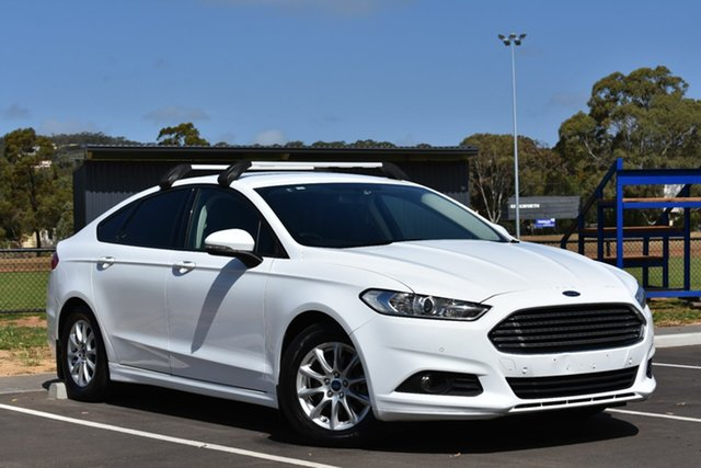 Used Ford Mondeo MD Ambiente PwrShift, 2015 Ford Mondeo MD Ambiente PwrShift White 6 Speed Sports Automatic Dual Clutch Hatchback