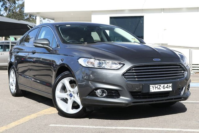 Used Ford Mondeo MD 2018.75MY Trend PwrShift, 2018 Ford Mondeo MD 2018.75MY Trend PwrShift Grey 6 Speed Sports Automatic Dual Clutch Hatchback
