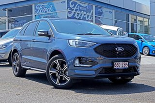 2018 Ford Endura CA 2019MY ST-Line SelectShift FWD Blue Metallic 8 Speed Sports Automatic Wagon.