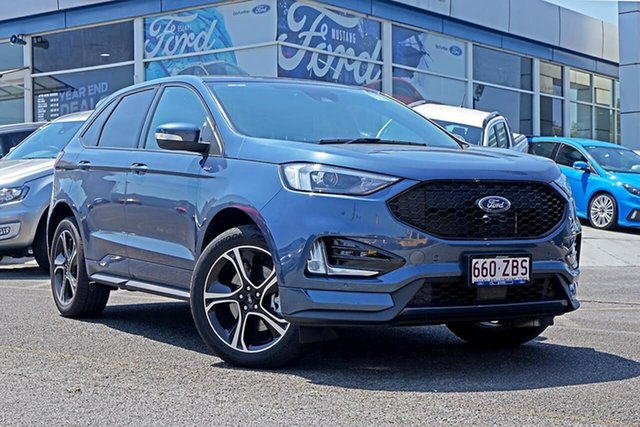 Used Ford Endura CA 2019MY ST-Line SelectShift FWD, 2018 Ford Endura CA 2019MY ST-Line SelectShift FWD Blue Metallic 8 Speed Sports Automatic Wagon