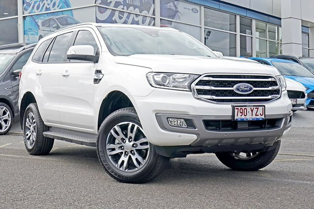 Used Ford Everest UA II 2019.00MY Trend 4WD, 2019 Ford Everest UA II 2019.00MY Trend 4WD White 6 Speed Sports Automatic Wagon