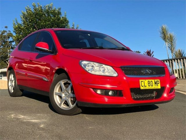 Used Chery J3 M1X MY13 , 2013 Chery J3 M1X MY13 Red 5 Speed Manual Hatchback
