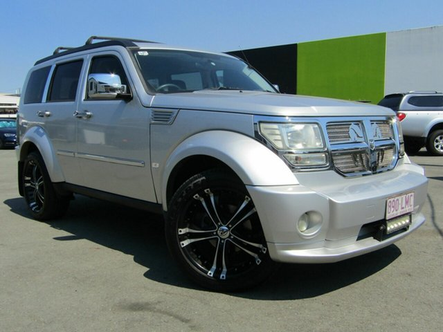 Used Dodge Nitro KA MY08 SXT, 2008 Dodge Nitro KA MY08 SXT Silver 4 Speed Automatic Wagon