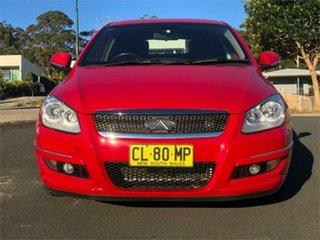 2013 Chery J3 M1X MY13 Red 5 Speed Manual Hatchback.