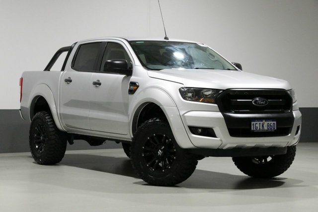 Used Ford Ranger PX MkII MY17 XLS 3.2 (4x4), 2017 Ford Ranger PX MkII MY17 XLS 3.2 (4x4) Silver 6 Speed Automatic Dual Cab Utility