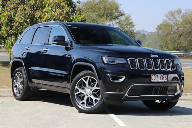 Used Jeep Grand Cherokee WK MY19 Limited, 2019 Jeep Grand Cherokee WK MY19 Limited Black 8 Speed Sports Automatic Wagon