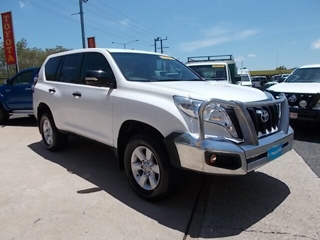Used Toyota Landcruiser Prado GDJ150R GX, 2017 Toyota Landcruiser Prado GDJ150R GX White 6 Speed Manual Wagon