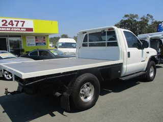 2004 Ford F250 RN XLT White 6 Speed Manual Cab Chassis